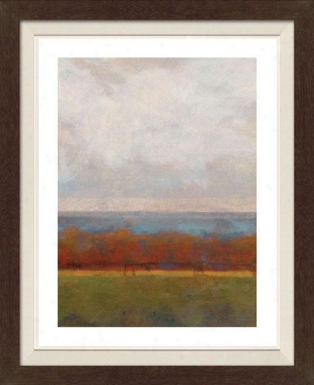 Fall Colors I Framed Wqll Art - I, Fltd Espresso