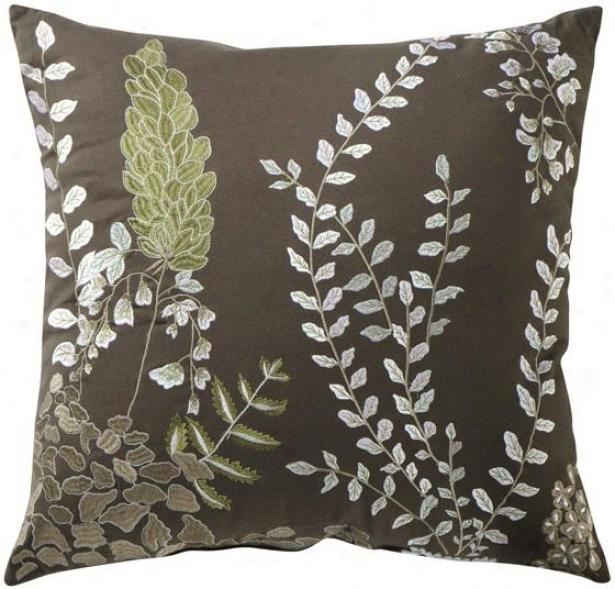 Farrah Decorative Pillow - 20hx20wx7d, Gray