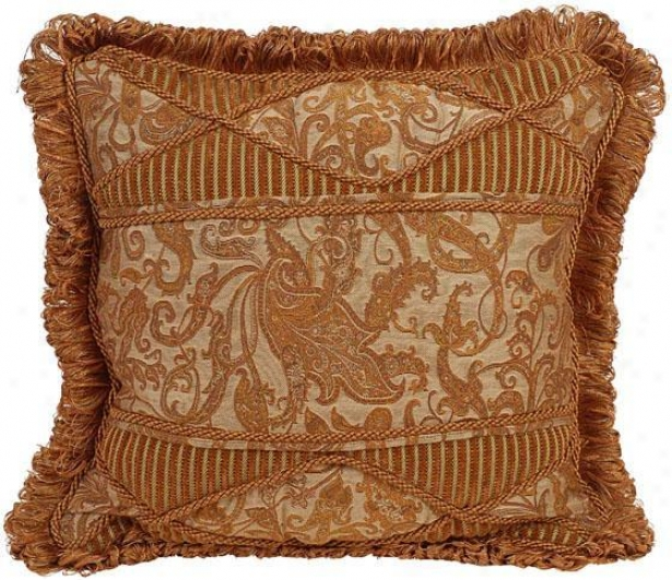 """""""felicity Pillow - 18"""""""" Square, Ivory"""""""