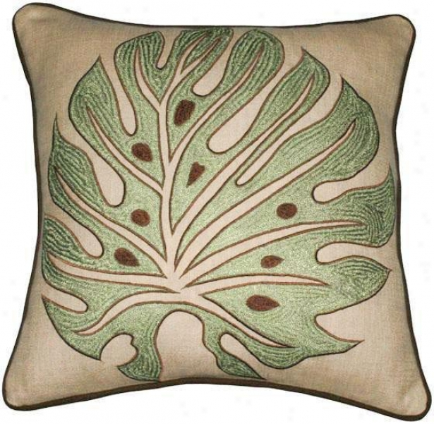 """ferndale Pillow - 18""""x18"""", Khaki"""
