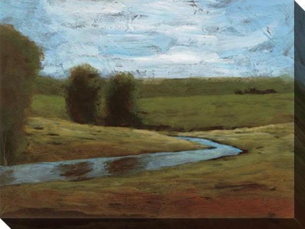Field Trip Iii Canvas Wall Arg - Iii, Green