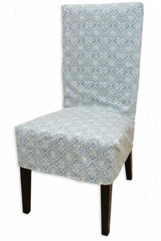 Fielding Collection Parzons Chair Slipcover - Parson Slip Cvr, Parker Surf
