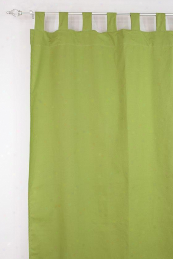 """flight Collection Curtain Panels - Tab Top Lined Panel, 54x84""""x, Pebbletex Palmx"""