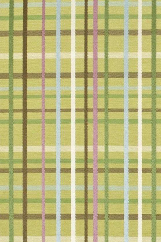 Flight Collection Fabric By The Yard - 1 Yard, Upstream Plaid Algaex
