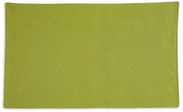 """""""flight Collection Placematw - Lined Placemat, 12.5x19""""""""x, Pebbletex Palmx"""""""