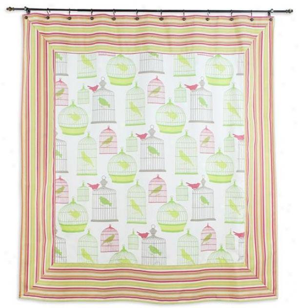 Flight Collection Shower Curtain - Shr Curtn 72x72, Swtsorb/pebtxp