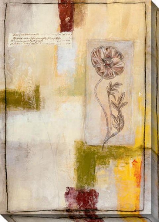 Flora Iv Canvas Wall Art - Iv, Ivorg