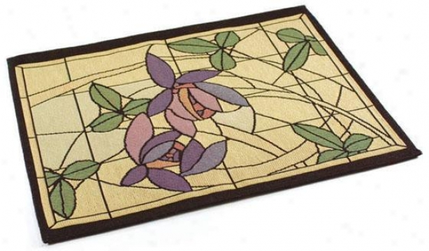 Flowers And Vines Table Linens - Place Mat Set Of 4, Multi
