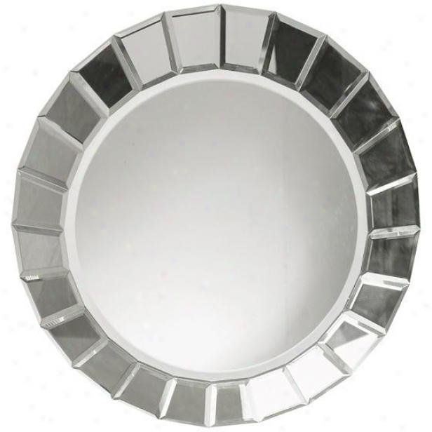 """""""fortune Mirror - 34""""""""d, Silver"""""""
