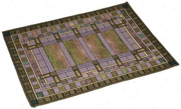 Frank Lloyd Wright  Bursar's Office Window Table Linens - Place Mat Set Of 4, Multi