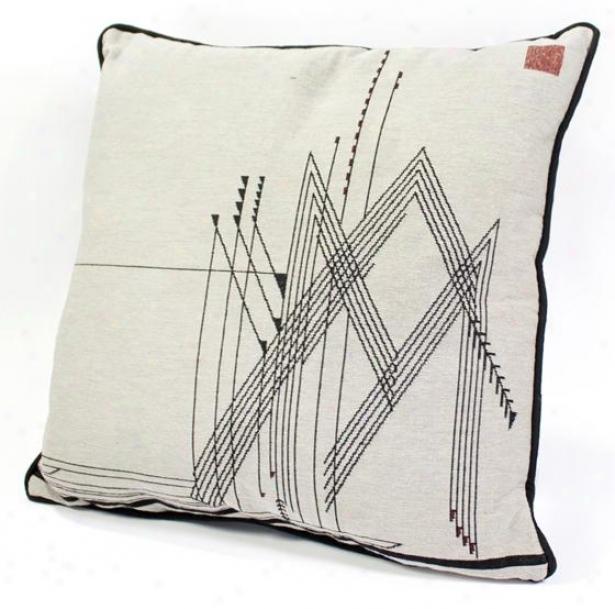 Frank Lloyd Wright  Harvest Decorative Pillow - 5hx18wx4d, Beige