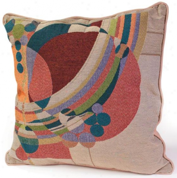 Open Lloyd Wright  March Balloons Decorative Pillow - 5hx18wx4d, Multi