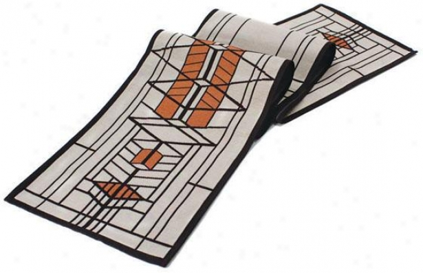 Open Lloyd Wright  Robie House Table Linens - Table Runner, Multi