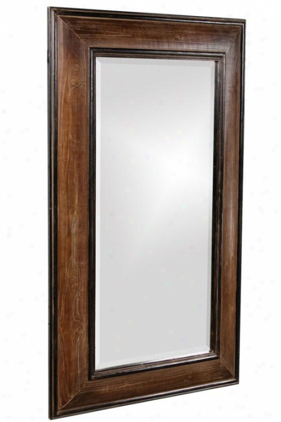 """franklin Rectangular Mirror - 51""""hx31""""wx2""""d, Original W/black"""