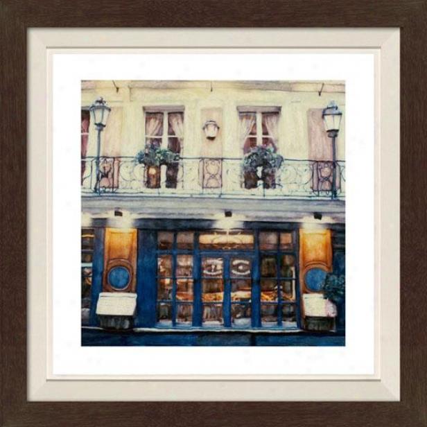 """""""frommage Framed Wall Art - 30""""""""hx30""""""""w, Fltd Espresso"""""""