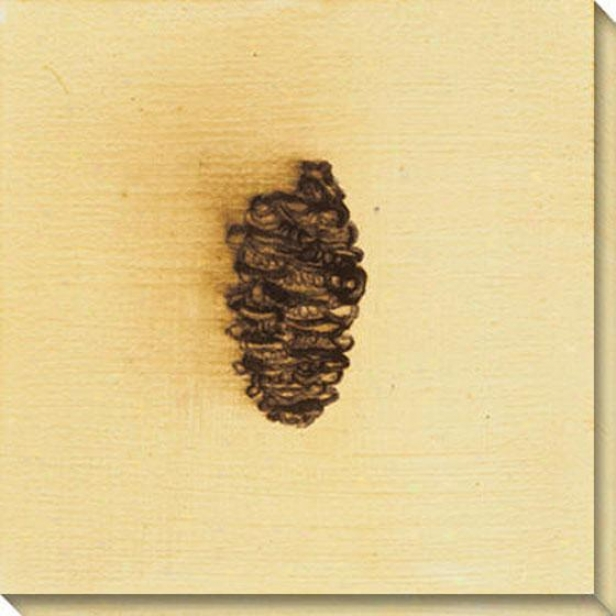 Fundamental Nature Ii Canvas Wall Art - Ii, Yellow