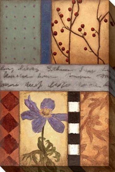 Garden Majesty I Cznvas Wall Art - I, Brown