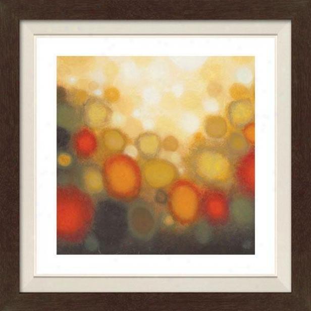 Garden Party I Framed Wall Art - I, Fltd Espresso