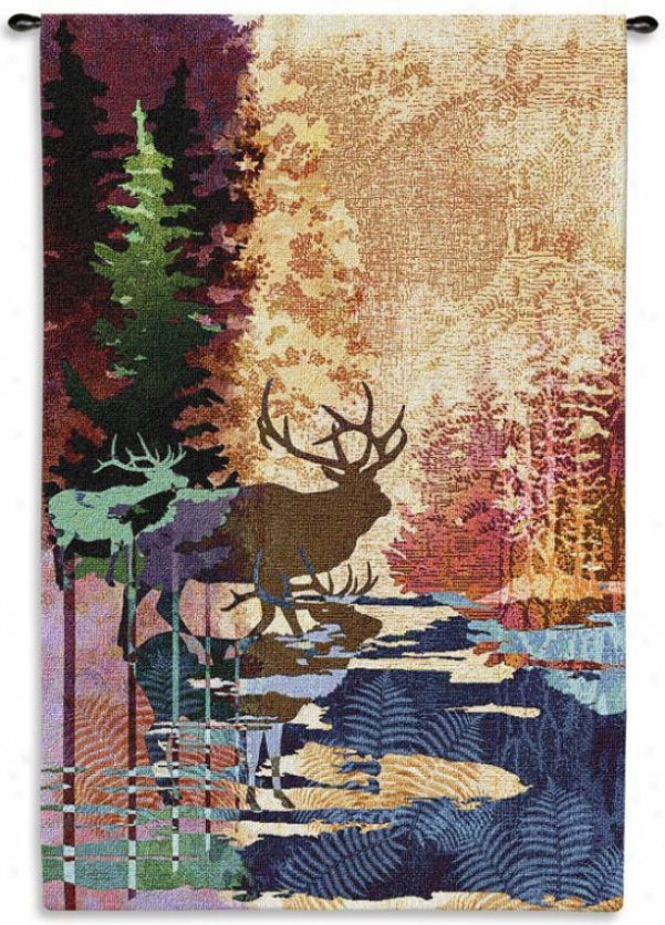 Ghosts Of The Tall Timbers Tapestry - Large, Multi