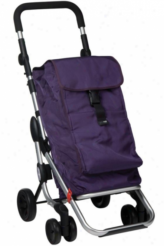 Doings Up Rollung Cart - 40hx19w, Purple