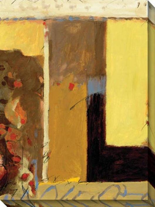 Grace Ii Canvas Wall Art - Ii, Gold
