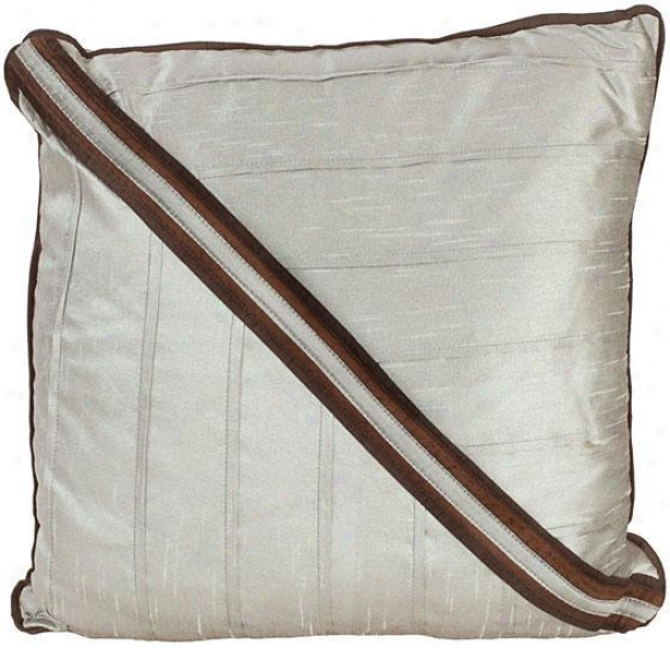 """""""grace Pillow - 81"""""""" Adjusted, Chocolate Brown"""""""