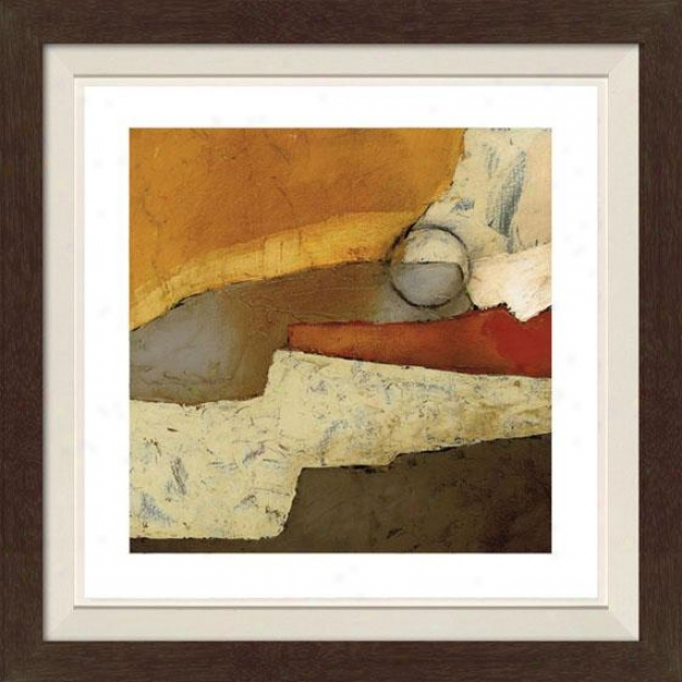 Grand Gesture I Framed Wall Art - I, Fltd Espresso