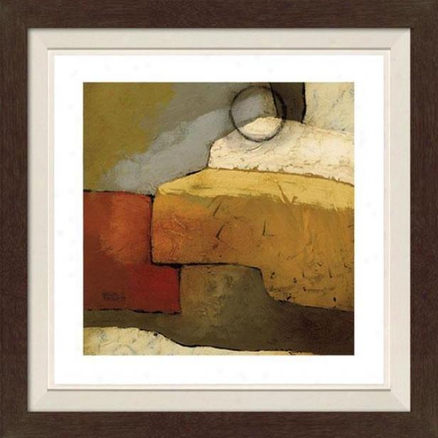 Grand Gesture Ii Framed Wall Art - Ii, Fltd Espresso