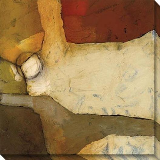 Grznd Gesticulate Iv Canvas Wall Art - Iv, Earthtones