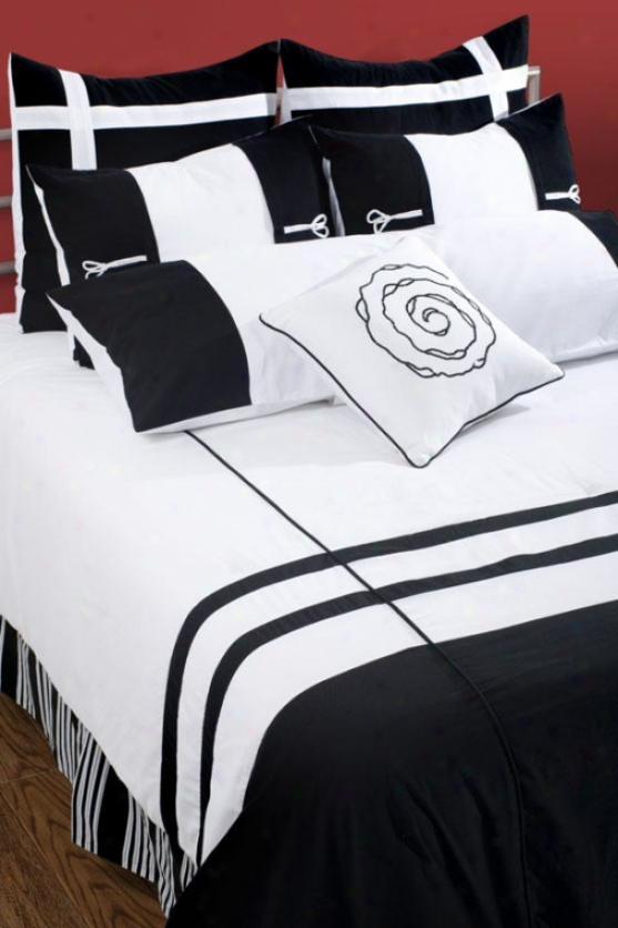 Grayton Bedding Set - King 9pc Set, Black
