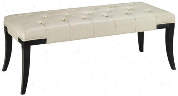 Hammond Leather Bench - Benches From Home Dscorators Collection