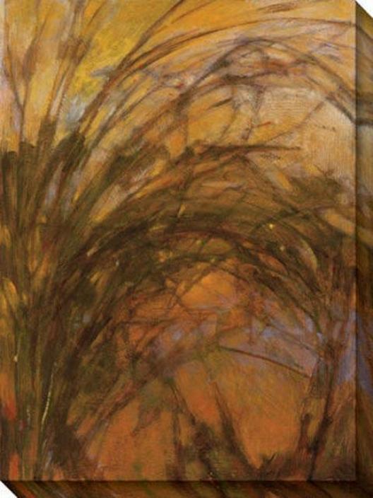 Harvest Ii Canvas Wall Art - Ii, Brown
