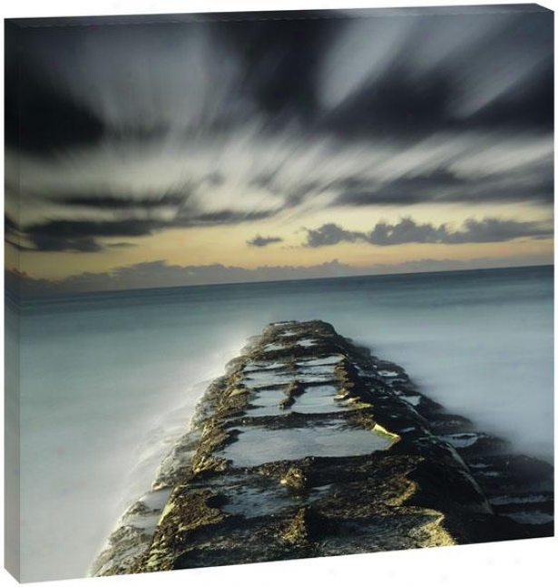 Heavenly Skies Wall Art - 42hz42wx1.5d, Blue