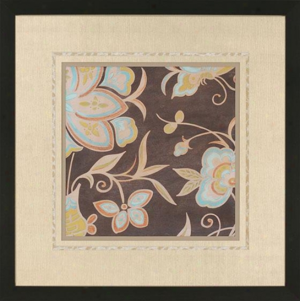 Heirloom Florall Wall Art Ii - I, Brown