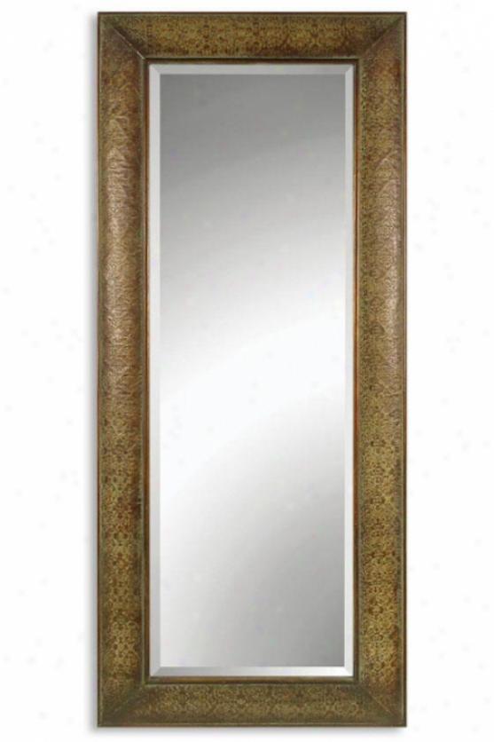"""helena Mirror - 70hx29.5wx2.5""""d, Copper"""