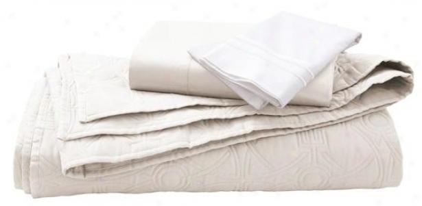 Home Decorators Collection Quilt Set - King, Nano White