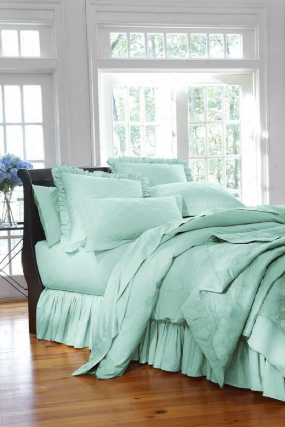 Home Decorators Collection Solid Duvet - Twin - No Monogram, Watery