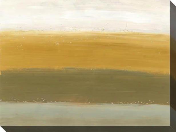 Horizon Lines Iii Canvas Wall Art - Iii, Earthtones