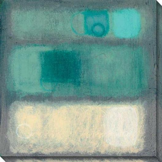 Illusion Ii Canvas Wall Art - Ii, Blue