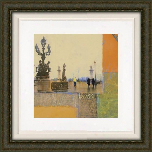Impressions Of Paris Ii Framed Wall Art - Ii, Fltd Burlwood