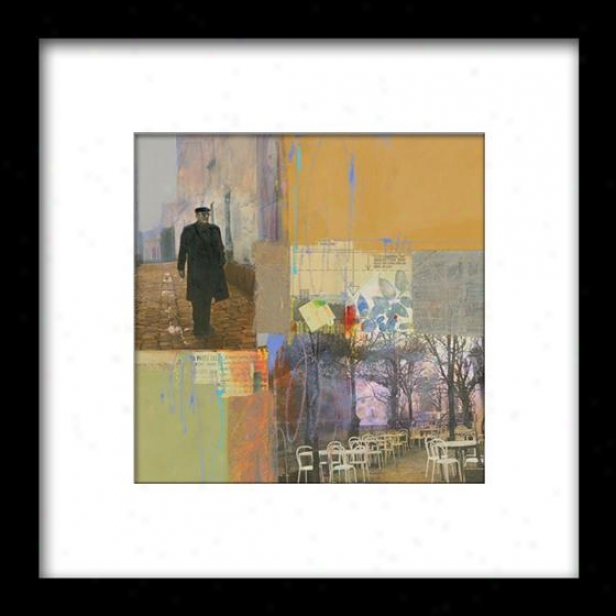 Impreswions Of Paris Iii Framed Wall Art - Iii, Matted Black
