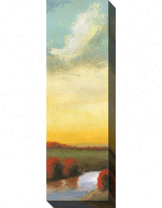 Indian Summer Ii Canvas Wall Art - Ii, Yellow