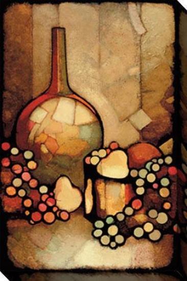 Infatuation I Canvas Wall Art - I, Brown