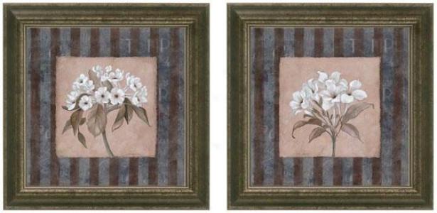 Innocence Framed Wall Art - Set Of 2 - Set Of Two, Blue