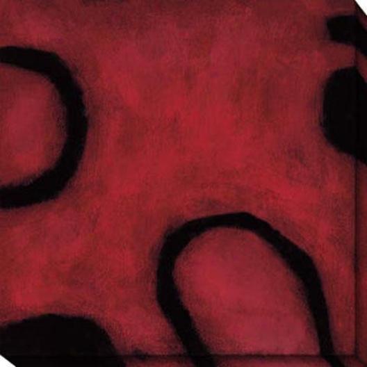 Insight Ii Canvas Wall Art - Ii, Red