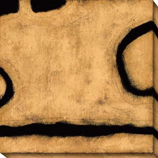 Insight Iii Canvas Wall Art - Iii, Gold
