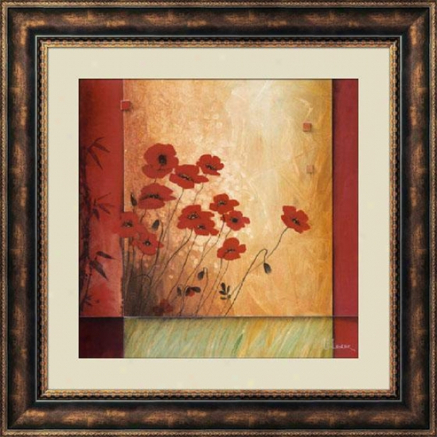 """into The Light Framed Wall Art - 39""""hx39""""w, Brown"""