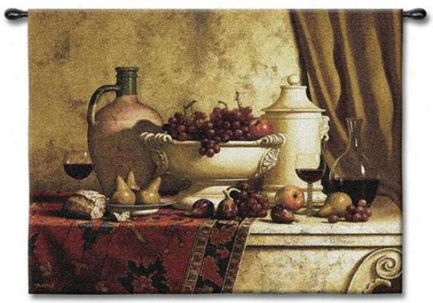 Italian Feast Tapestry - Mean, Multi