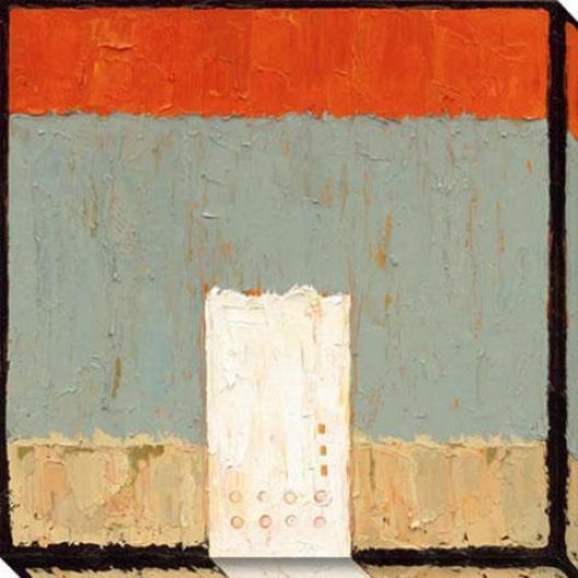 Just For Ii Canvas Wall Art - Ii, Orange