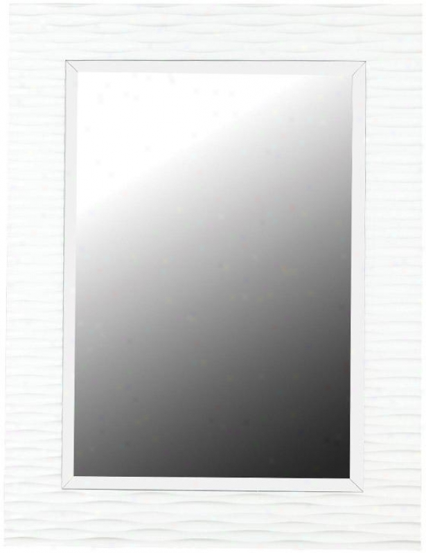 """kendrick Wall Mirror - 39h X 30""""w, Gloss White"""